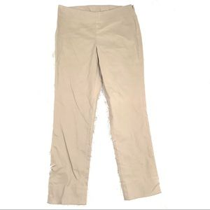 Tommy Bahama 8 Fitted Flat Front Dress Pants Beige